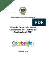 Plan de Desarrollo Carabayllo 2017-2021