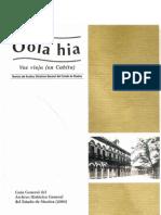 Oola Hia Revista Del Archivo Historico Del Estado de Sinaloa