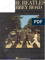 Beatles - Abbey Road Guitar Recorded Version