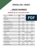 Exame Especial 2018 - DIURNOENOTURNO - UFMG