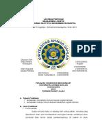 Laporan Pratikum Manajemen Logistik
