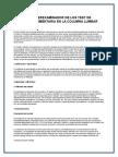 Fiabilidad Interexaminador de Los Test de Movilidad Segmentaria en La Columna Lumbar