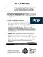 Low Fod Map Diet