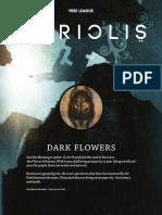 Coriolis RPG - Dark Flowers Adventure