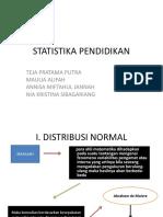 STATISTIKA PENDIDIKAN PPT