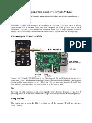 Communicating With Raspberry Pi via Mav Link | Sudo