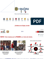 Exposicion Adicional E-QUIPU - Estándar