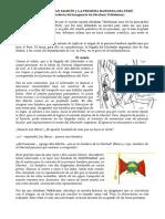 El Sueño de San Martín y La Primera Bandera Del Perú