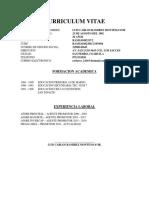 Curriculum Vitae Rolando