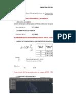 PARAMETROS-CUENCAS HIDROLOGICOS