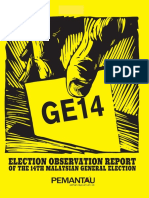 PEMANTAU Election Observation Report of the 14th Malaysian General Election -Full