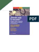 Duschatzky, S. Birgin, A. Donde está la Escuela.pdf