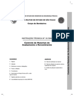 CBMSP - Materiais de Acabamento e Revestimento