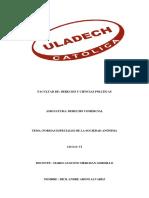 Actividad Nro. 06 Investigación FormativaRevision Catalogo de Tesis II Unidad DERECHO COMERCIAL