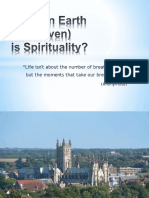 What on Earth is Spirituality