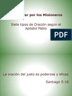 Cómo Orar Por Los Misioneros
