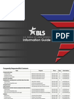 Bureau of Labor Statistics Information Guide