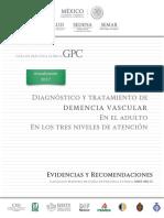 GPC Demencia Vascular