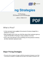 Strategi Pricing