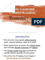 11 Public Goods & Common Resources
