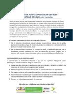 Formulario Cuestionario Adaptación Familiar con Hijos con SD 0-12