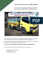 Ahli Sedot WC Murah di Kota Wisata | TEL. 0899-384-0026