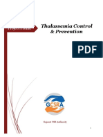 Thalasemia Prevention Control 2018