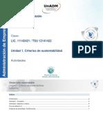 U1. Criterios de Sustentabilidad_Actividades