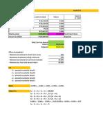 Solver - Linear Programming