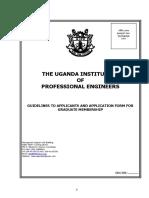 Uipe Graduate Membership Form
