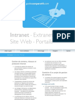 Guide Intranet Extranet Portails