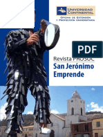 INFORME DE PROYECCIÓN SOCIAL - HUANCAYO