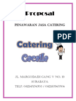 Proposal Catering Cacaila