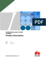 Huawei b612s 25d Lte Cpe Product Description Specs Datasheet