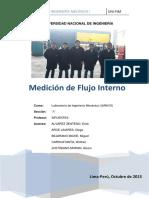 Informe Laboratorio Mediciones de Flujo
