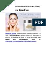 Creme Des Palmier