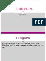 Sop Desferal