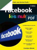 Facebook 5e Édition Poche Pour Les Nuls (French Edition)