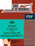 Types of Wounds 101