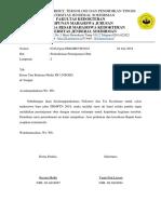 Surat Peminjaman Barang P2 Sbmptn