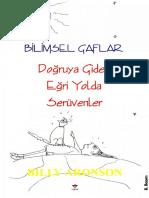 Billy Aronson - Bilimsel Gaflar