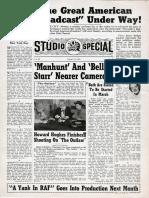 Twentieth Century-Fox Studio Special (January 18, 1941)