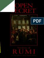 Open Secrets - Rumi