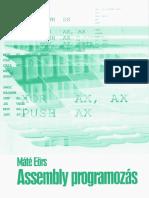 Máté Eörs - Assembly programozás.pdf
