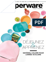 Brochure Tupperware mi-juillet 2018