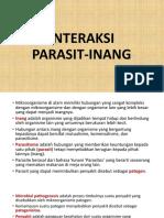 """Teori Fisiologi Mikroba """"Interaksi Parasit-Inang"""" by Bu Reno Fitri M.Si"""