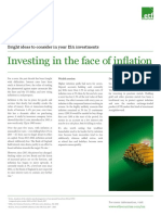 Investing in the Face of Inflation