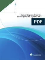Manual de Procedimiento de Diploma