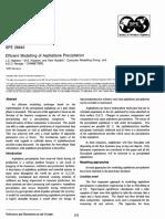 Modelo Efeciente de La Precipitacion de Parafinas