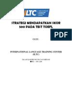 Panduan TOEFL Test